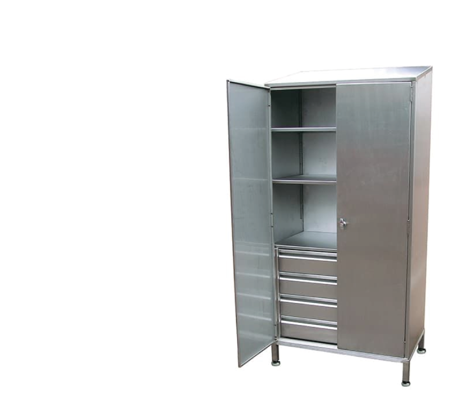 Cupboards with drawers