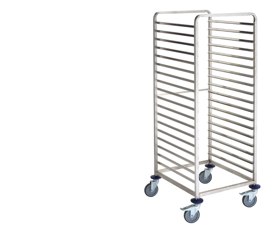 Gastronorm container trolleys