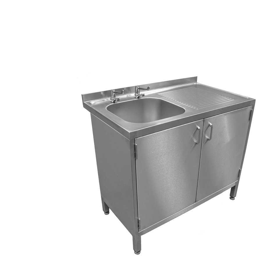 Sinks with cupboards