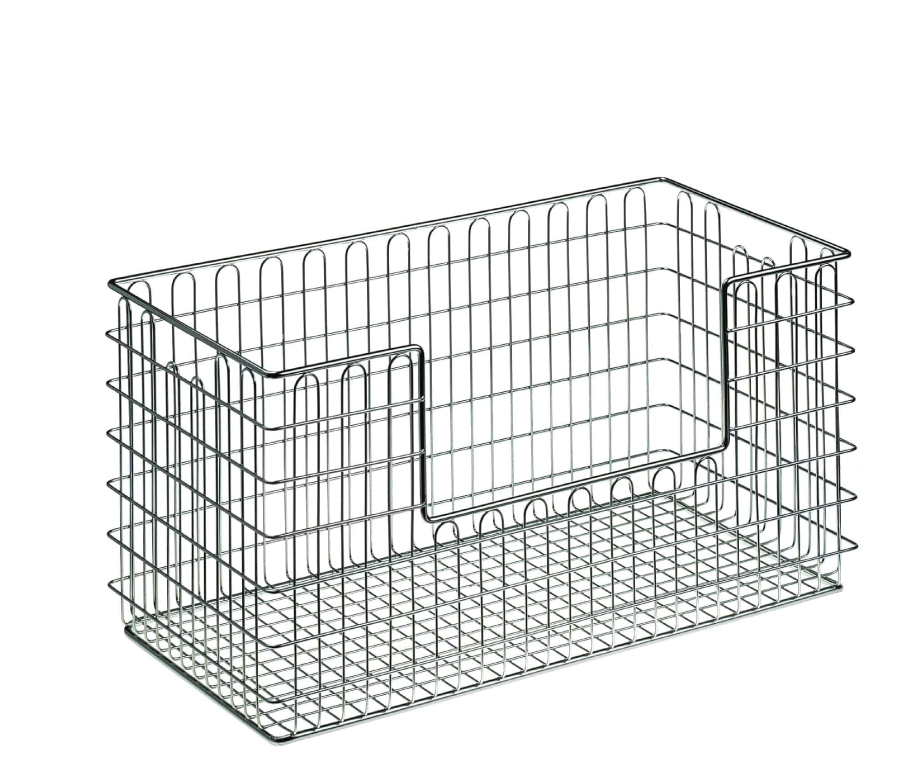 Sterile goods baskets with access