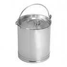 Lid for straight sided bucket