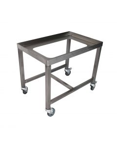 Stainless steel basket stands