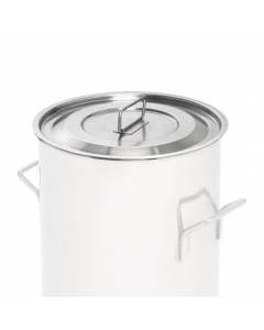 316-grade stainless steel lid for mixing containers