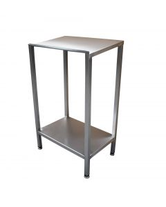 Free standing lectern with shelf