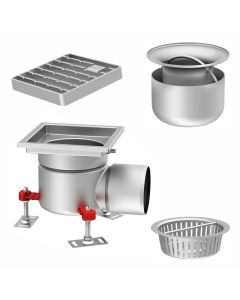 Stainless Steel Gully Kits