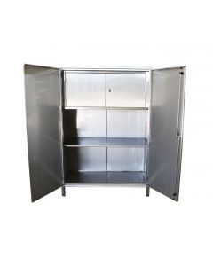 Stainless Steel Cupboard With Internal Cabinet