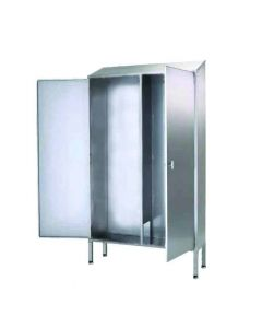 Stainless Steel Janitorial Cupboard