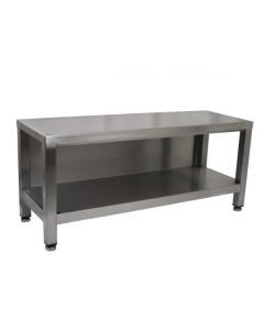 Enclosed Seating Bench With Shelf