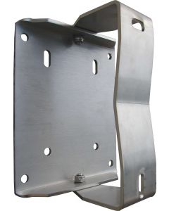 Stainless steel swivel wall bracket for spring rewind