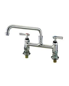 Deck mounted mixer tap with levers 75mm