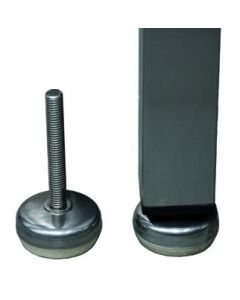 Stainless steel spare foot