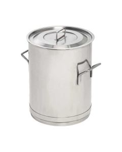 316 grade stainless steel mixing container only