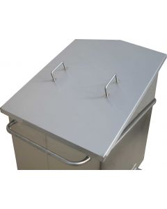 Stainless Steel Chuted Euro Tub Lid