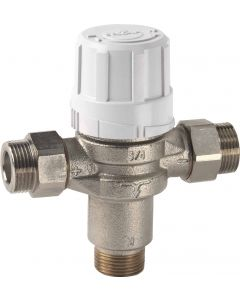 Thermostatic water mixing valve