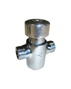 Chrome water valve