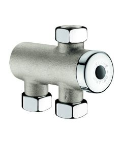 "Thermostatic mixer 1/2"" (nickel)"
