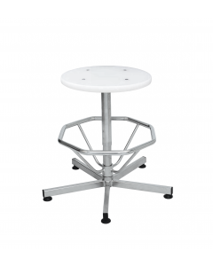 V-korr autoclave stool with foot ring
