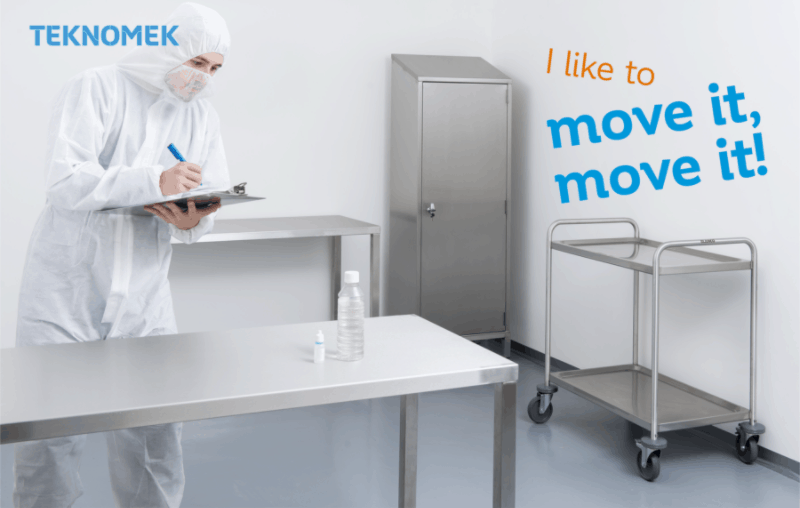 Using mobile furniture in your cleanrooms can save you time and reduce risk